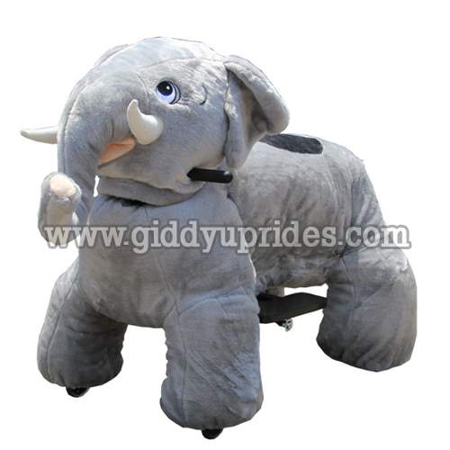 Small Foot Design 10819 Wooden Rocker In The Shape Of Elephant From Die Maus