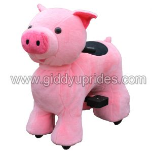 Mini Pink Pig Animal Scooter